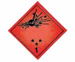 Test ADR de explosivos